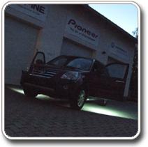 LED világítás autóba, kilépő fény