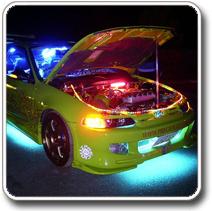 Dekor LED világítás autóba