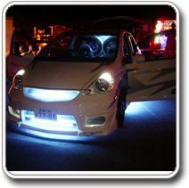 Fehér LED világítás autóba