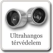 Ultrahangos térvédelem